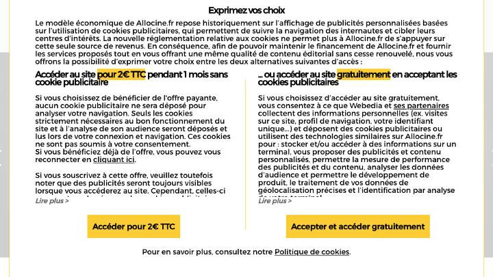 Cookies pubs : comment les sites d'infos français ont répondu aux règles de la CNIL ?