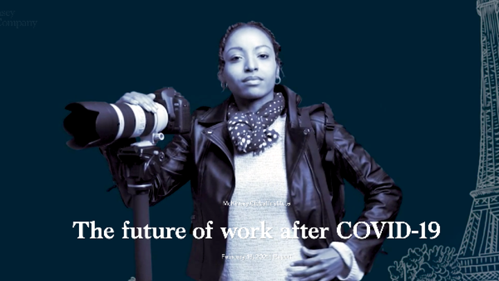 """Future of work""... Quels impacts ? Comment travaillerons-nous ?"