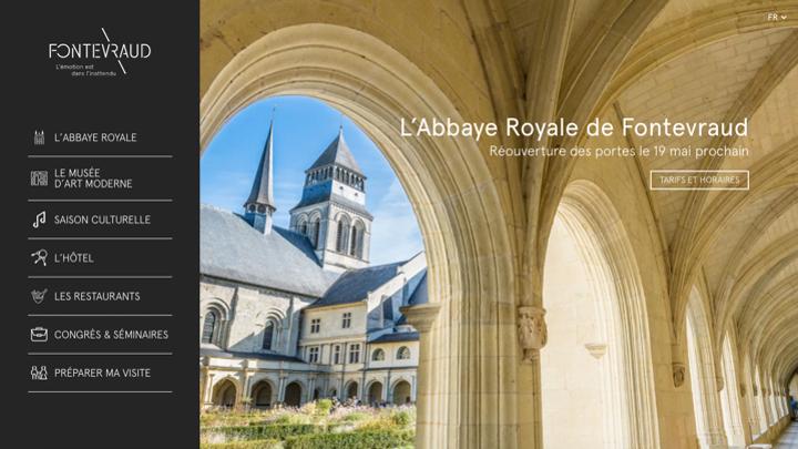 L'Abbaye Royale de Fontevraud renouvelle sa confiance à RnD