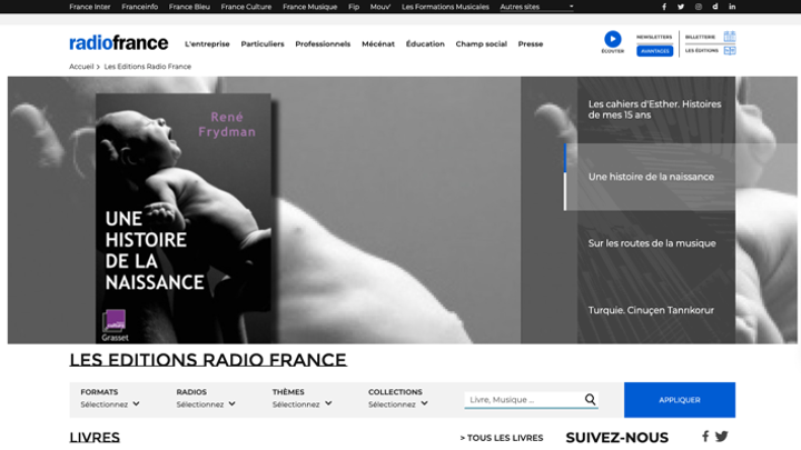 RnD continue d'accompagner Radio France